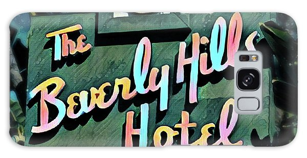 Glitzy Beverly Hills Hotel Galaxy Case