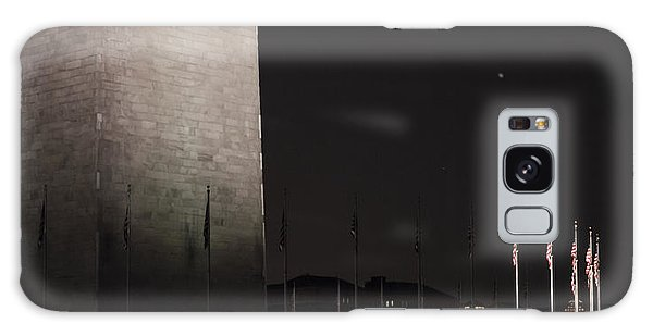Glmpse Of The Washington Monument Galaxy Case