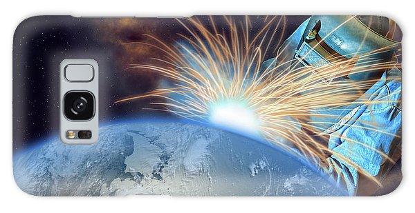 Global Meltdown Galaxy Case