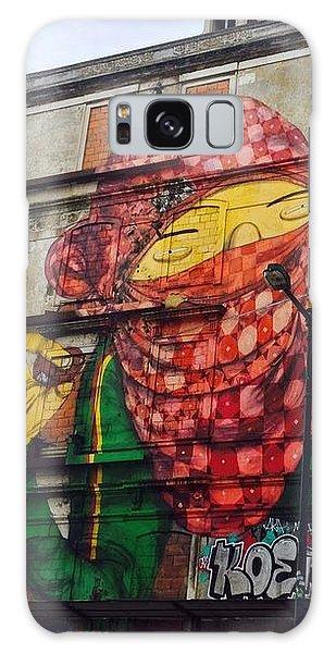 Globe Building Art Painting Galaxy Case by Sheila Mcdonald