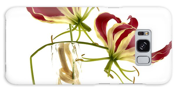 Orchidaceae Galaxy Case - Gloriosa Lily. by Bernard Jaubert