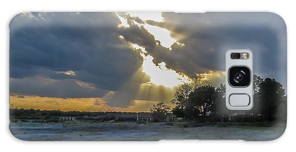 Da211 Glorious Bluebonnet Sunset By Daniel Adams Galaxy Case