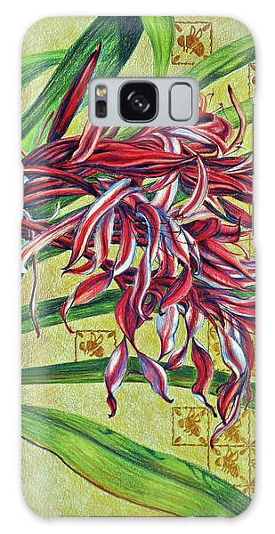 Glorious Crinum Galaxy Case by Suzanne McKee