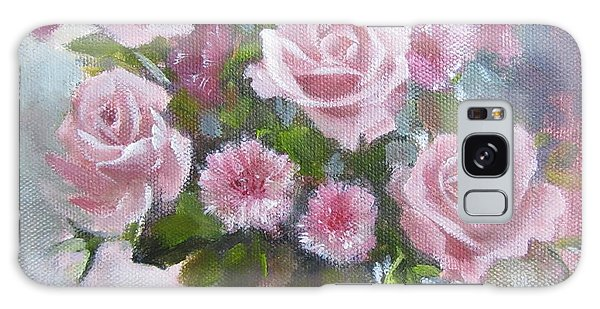 Glorious Roses Galaxy Case