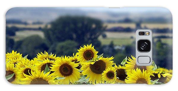 Glorious Sunflowers Galaxy Case