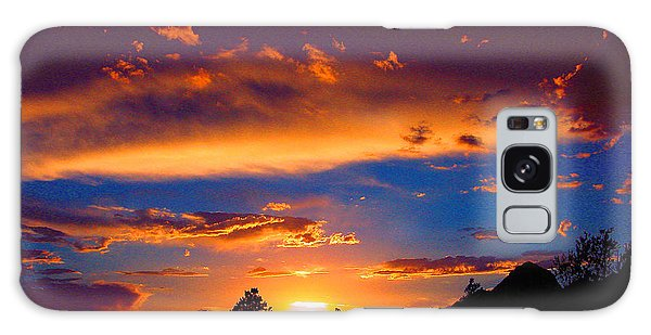 Glorious Sunset Galaxy Case