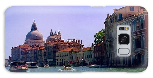 Galaxy Case featuring the photograph Glorious Venice by Anne Kotan