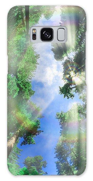 Glory Amongst Redwoods Galaxy Case