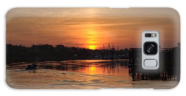 Glory Of The Morning On The Water Galaxy Case