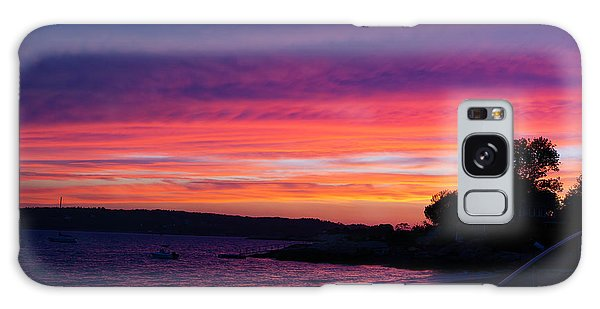 Gloucester Harbor Beach Galaxy Case