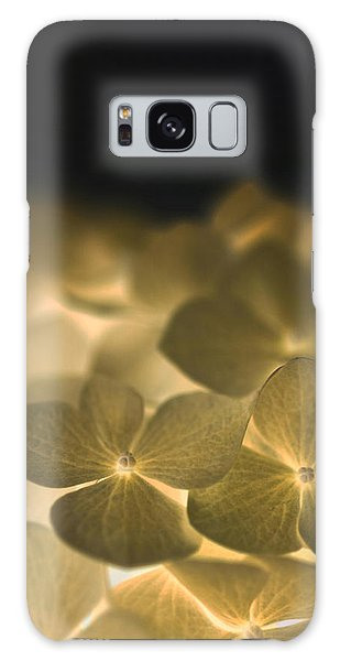 Glow Blossoms Galaxy Case