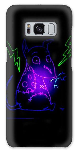 Glow Frankenweenie Sparky Galaxy Case by Marisela Mungia