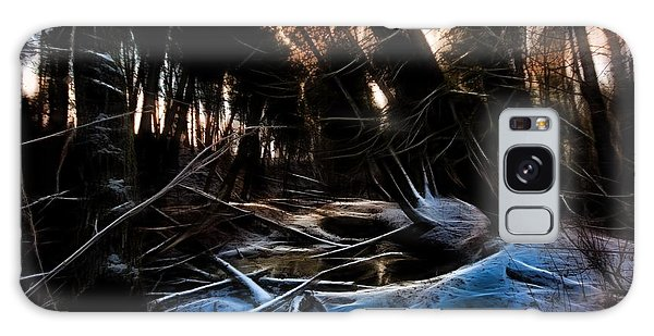 Galaxy Case featuring the photograph Glow River by Michaela Preston