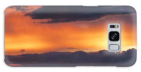 Glowing Clouds Galaxy Case