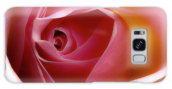 Glowing Rose Hdr Galaxy Case
