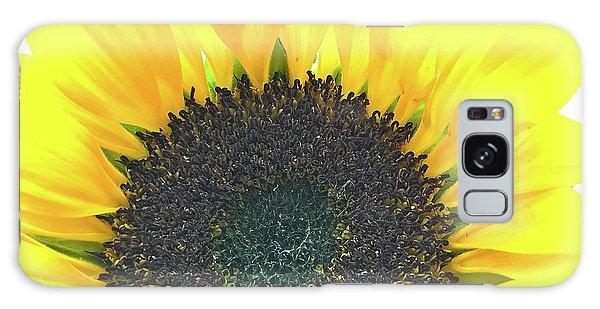 Glowing Sunflower Galaxy Case
