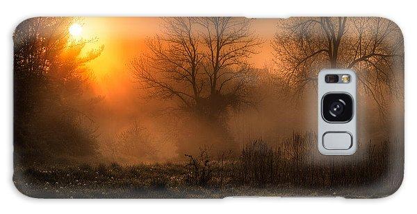 Sunrise Galaxy Case - Glowing Sunrise by Everet Regal