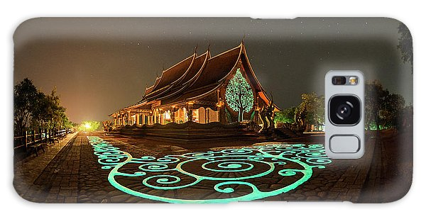 Glowing Wat Sirintorn Wararam Temple, Ubon Galaxy Case