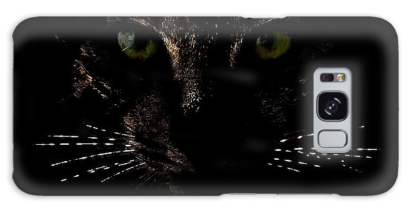 Glowing Whiskers Galaxy Case