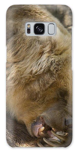 Grizzly Bears Galaxy Case - Gnaw by Mike  Dawson
