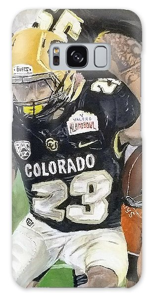 Galaxy Case featuring the painting Go Buffs by Kevin Daly