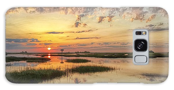 Sunrise Sunset Photo Art - Go In Grace Galaxy Case