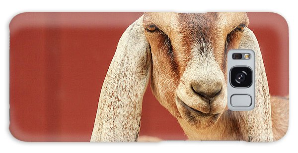 Goat With An Attitude Galaxy Case