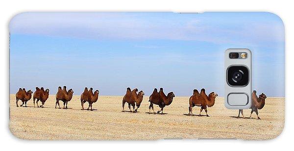 Gobi Camels Galaxy Case