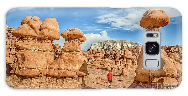 Goblin Valley State Park Galaxy Case by JR Photography