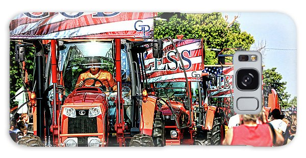 God Bless America And Farmers Galaxy Case by Toni Hopper