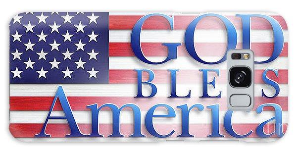 God Bless America Galaxy Case