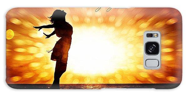 God Danced The Day You Were Born Galaxy Case