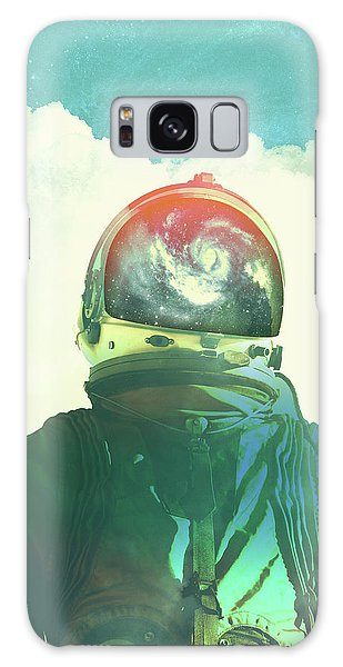 Astronauts Galaxy S8 Case - God Is An Astronaut by Fran Rodriguez