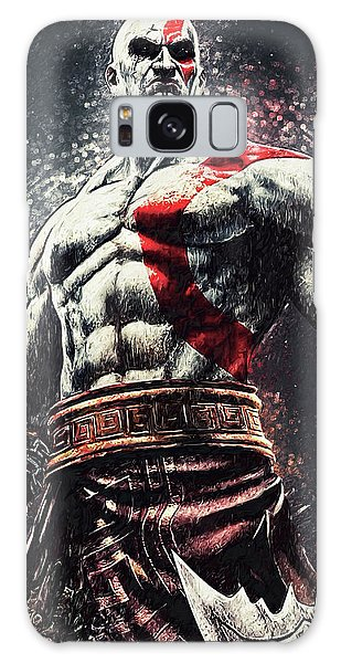 God Of War - Kratos Galaxy Case by Taylan Apukovska