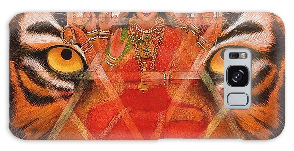 Goddess Durga Galaxy Case by Sue Halstenberg
