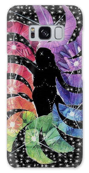 Galaxy Case featuring the mixed media Goddess by Kym Nicolas