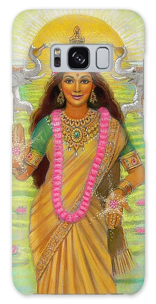 Goddess Lakshmi Galaxy Case by Sue Halstenberg