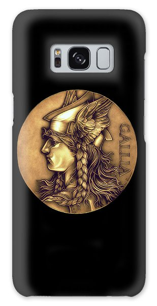 Goddess Of Gaul Galaxy Case by Fred Larucci