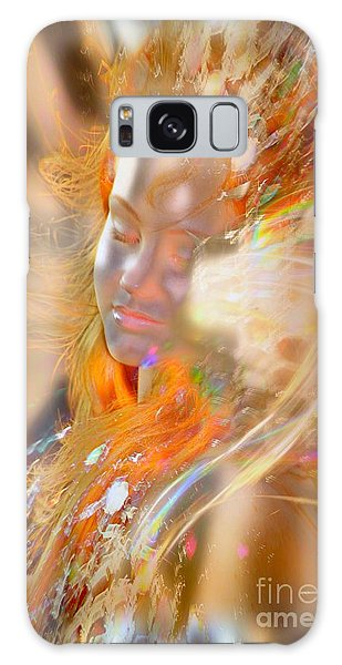 Galaxy Case - Goddess Of Rainbows by Uldra Johnson