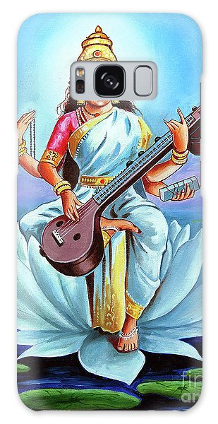 Goddess Of Wisdom And Knowledge Galaxy Case