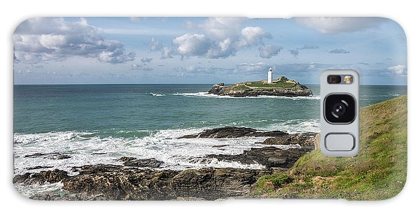 Godrevy Lighthouse 3 Galaxy Case
