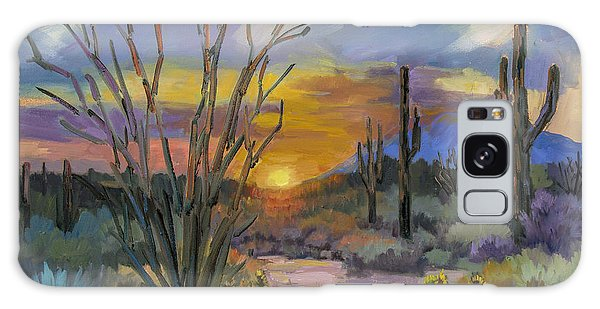 God's Day - Sonoran Desert Galaxy Case