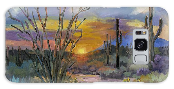 God's Day - Sonoran Desert Galaxy Case by Diane McClary