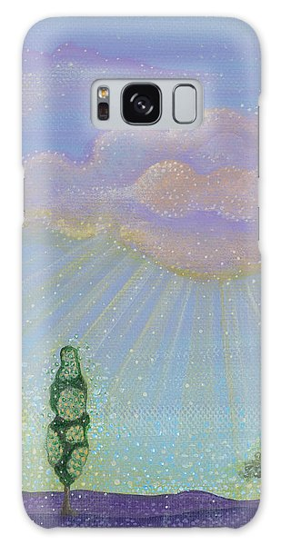 God's Grace Galaxy Case by Tanielle Childers