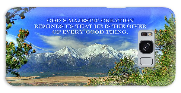 God's Majestic Creation Galaxy Case