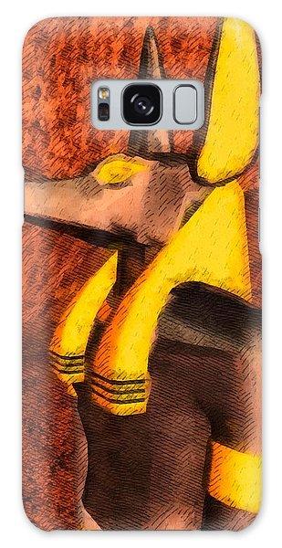 Anubis Galaxy Case - Gods Of Egypt - Anubis by Raphael Terra