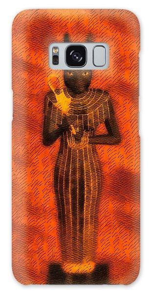 Anubis Galaxy Case - Gods Of Egypt - Bastet by Raphael Terra