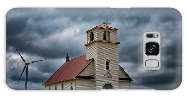 Galaxy Case featuring the photograph God's Storm by Darren White