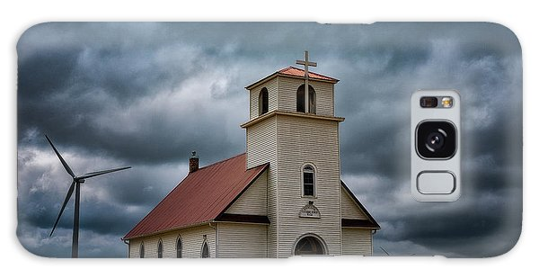 God's Storm Galaxy Case by Darren White