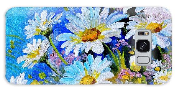 God's Touch Galaxy Case by Karen Showell